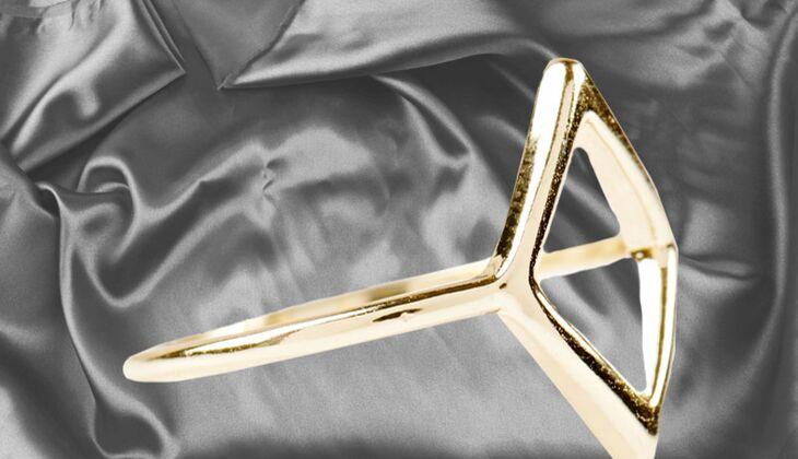 Minimalistischer Ring von Urban Outfitters, zirka 9 Euro