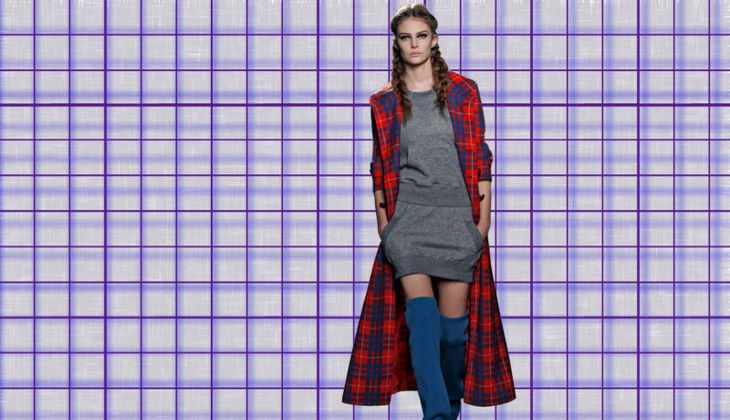 Modetrend: Karomuster