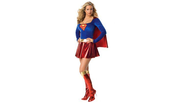 Mutige Schönheit: Superheldin