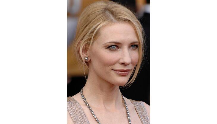 Natürliche Blässe: Cate Blanchett