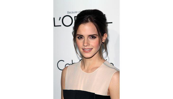 Natürliche Blässe: Emma Watson