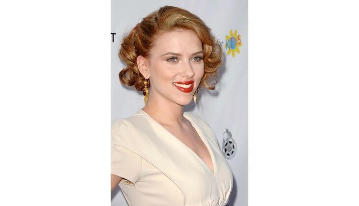 Natürliche Blässe: Scarlett Johansson