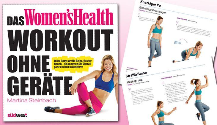 Neues Workout-Buch von Women's Health