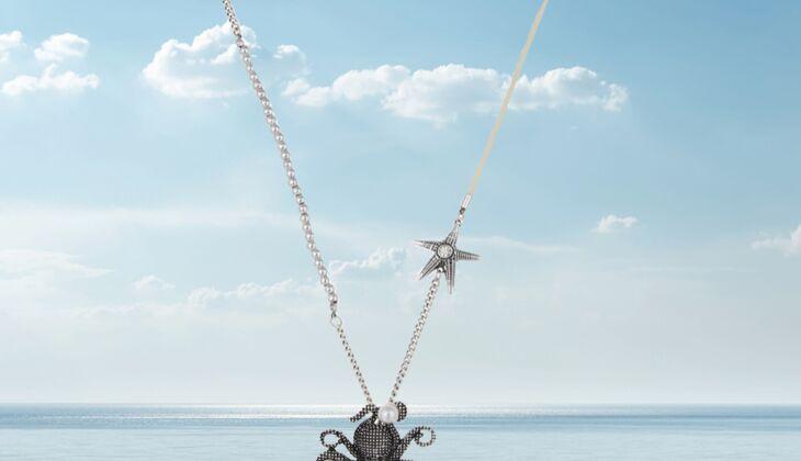 Octopus Halskette von Leslii