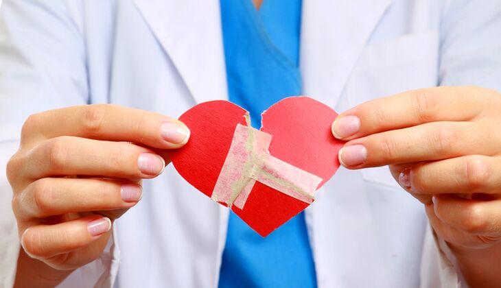 Ohne bleibende Folgen: Das Broken Heart Syndrom verschwindet mit der Zeit von allein
