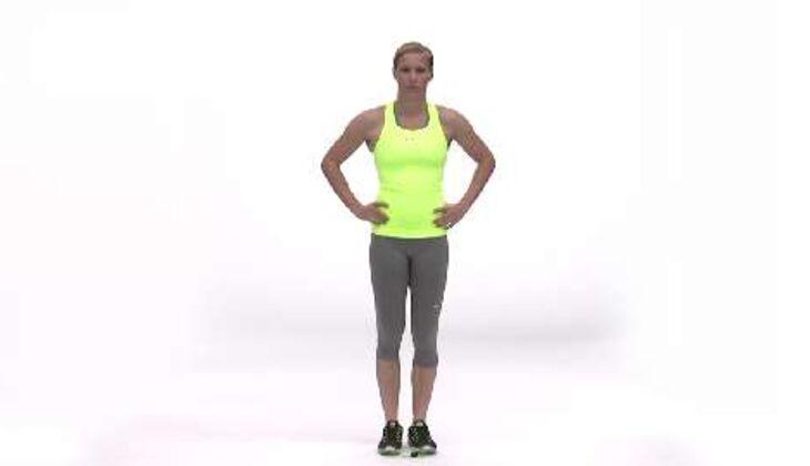 """Olympia-Workout: Warm-up für den """"Kick im Fuß"""""""