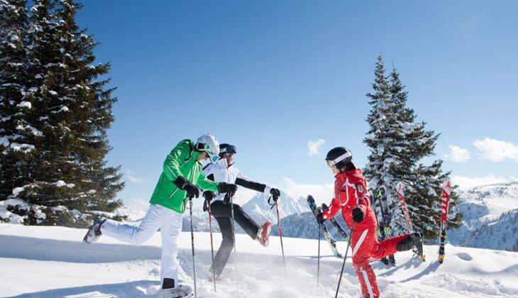 Orte zum Skifahren: Salzburgerland