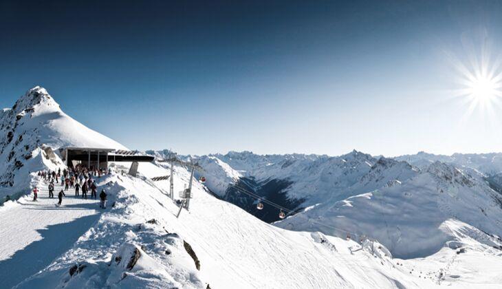 Orte zum Skifahren