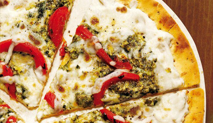 Pesto-Ricotta-Pizza