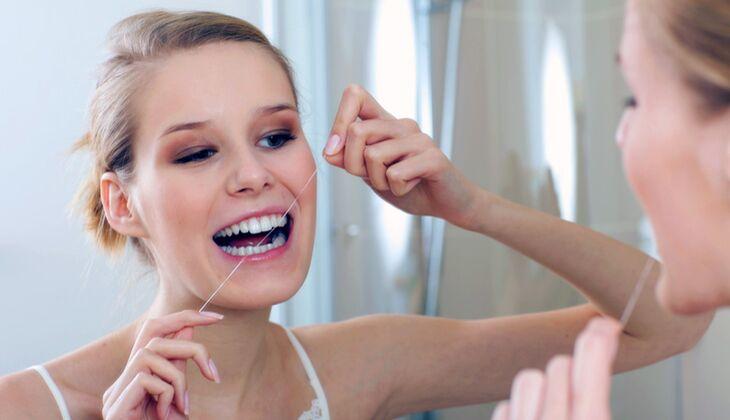 Pflegetipp für schöne Zähne