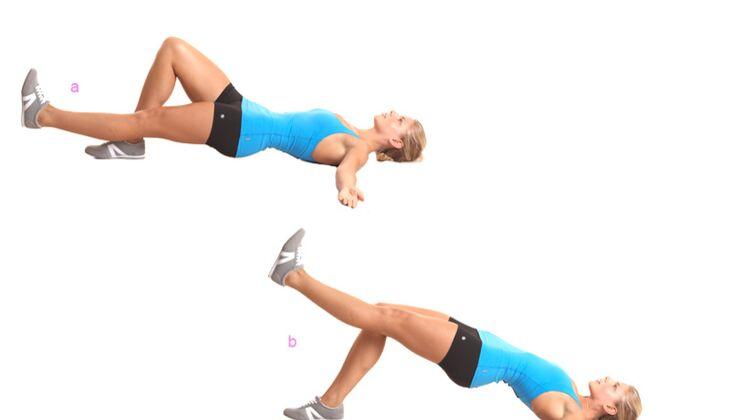 Po-Workout: Einbeiniges Hüftheben