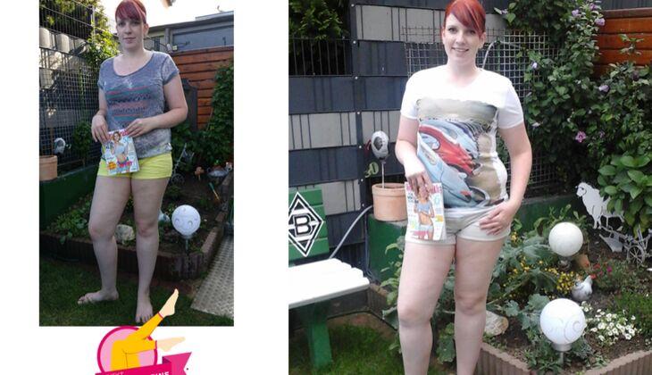 Projekt Schlanke Beine 2015: Michelle (22) aus Bedburg
