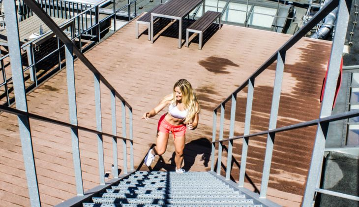 Projekt Sexy Bauch 2016: Vanessa Wenk in Hamburg