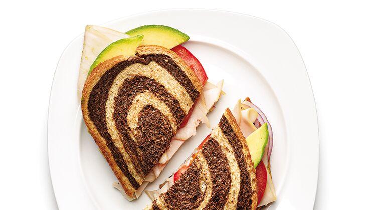 Puten-Avocado- Sandwich