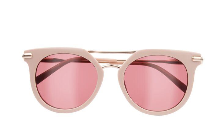 Rosa Sonnenbrille von Calvin Klein
