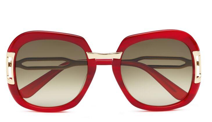 Rote Sonnenbrille von Etro