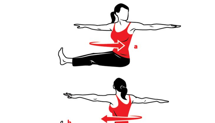 Schlank und sexy mit Pilates