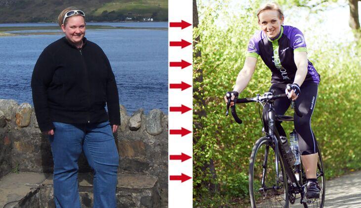 Schnell abnehmen: Clarissa wog vorher 140 Kilo, nachher 67 Kilo