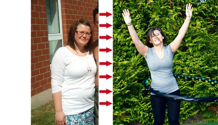 Schnell abnehmen: Regina verlor 18 Kilo