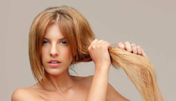 Schöne Haare: Sahne-Zitronen-Haarkur gegen trockenes Haar