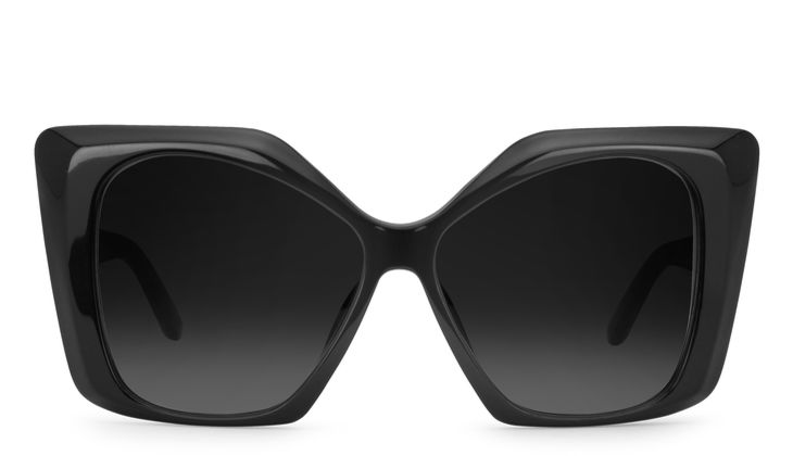 Schwarze Sonnenbrille von Pierre Cardin