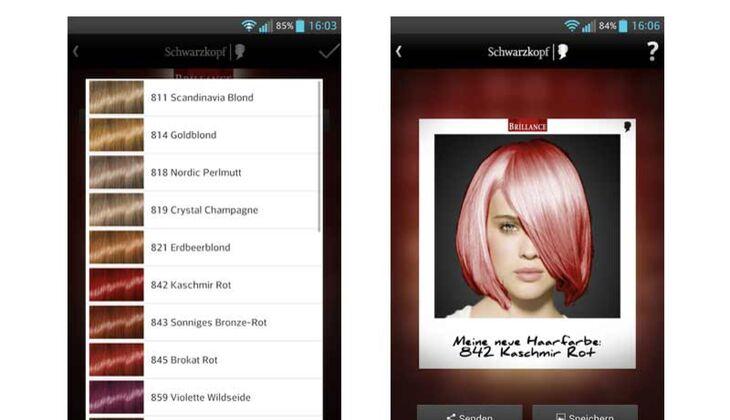 Schwarzkopf Farbberater-App
