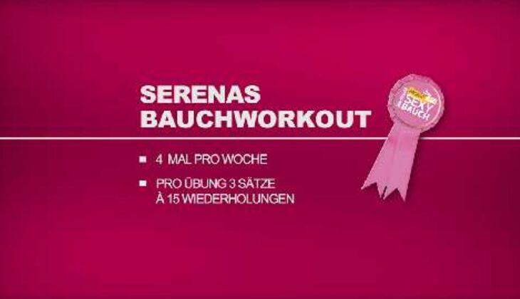 Sexy-Bauch-Workout: Alle Übungen von Serena Meyer im Überblick