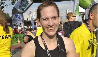 Siegerin über 24 Kilometer: Sarah Drees