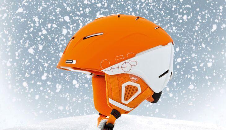 Skihelm von Alpina, zirka 150 Euro
