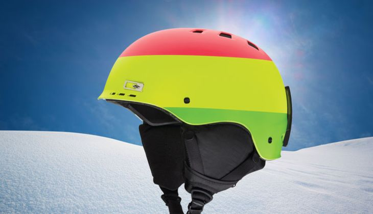 Skihelm von Smith Optics, zirka 50 Euro