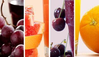 So viele Kalorien haben Fruchtsäfte