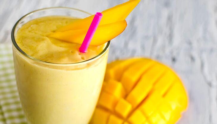 Soja-Mango-Lassi