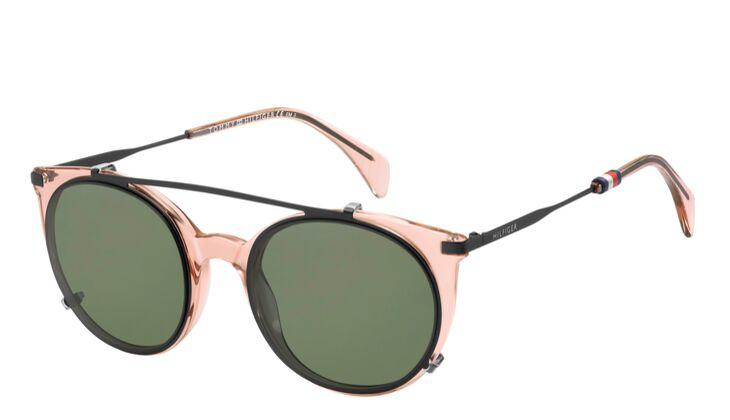 Sonnenbrille rosa-grün von Tommy Hilfiger