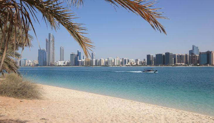 Sonnenziele im Herbst und Winter: Abu Dhabi