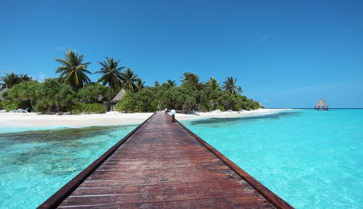 Sonnenziele im Herbst und Winter: Malediven