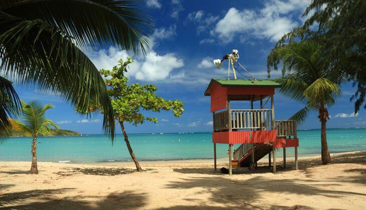 Sonnenziele im Herbst und Winter: Puerto Rico