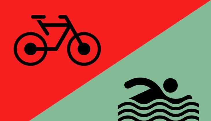 Sonntag, 13Uhr: Radtour oder rein ins Wasser?