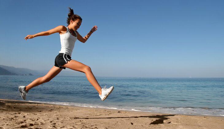 Sport muss nicht lange dauern: Sie sollten aber versuchen, regelmäßig in Bewegung zu sein