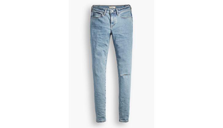 Straight Leg: Levis Made&Crafted Jeans in heller Waschung