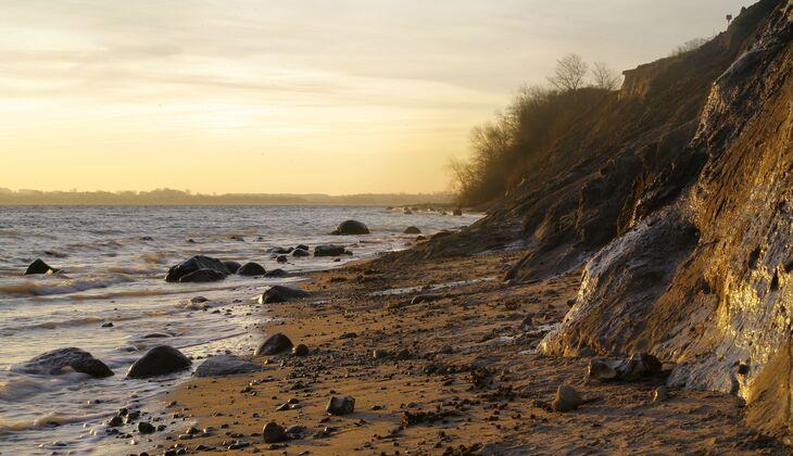 Strand an der Ostsee: Brodtener Steilufer Lübecker Bucht