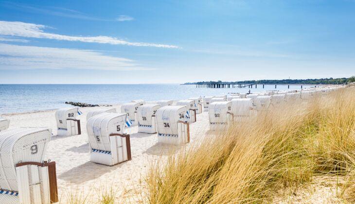 Strand an der Ostsee: Timmendorfer Strand