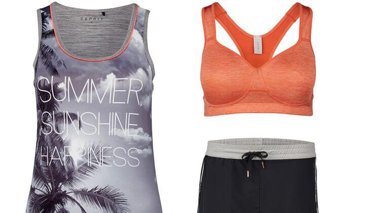 Summer, Sunshine und Happiness: Yoga-Mode von Esprit