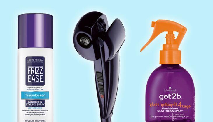 Umstyling für die Haare: Glatt oder Lockig