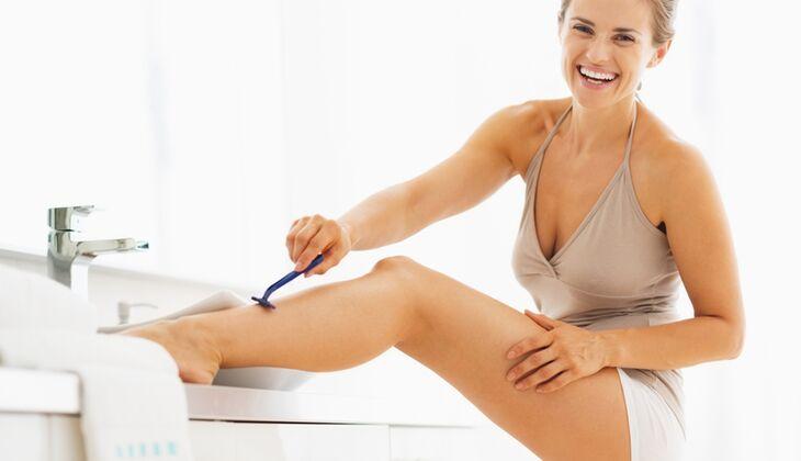 Viele Männer finden unrasierte Beine gar nicht so schlimm – solange es eine Ausnahme ist