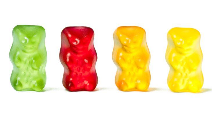 Viele Süßigkeiten enthalten Farbstoffe