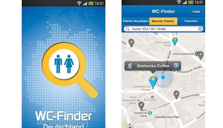 WC Finder Deutschland  App