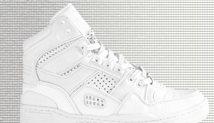 Weiße Sneaker von DKNY