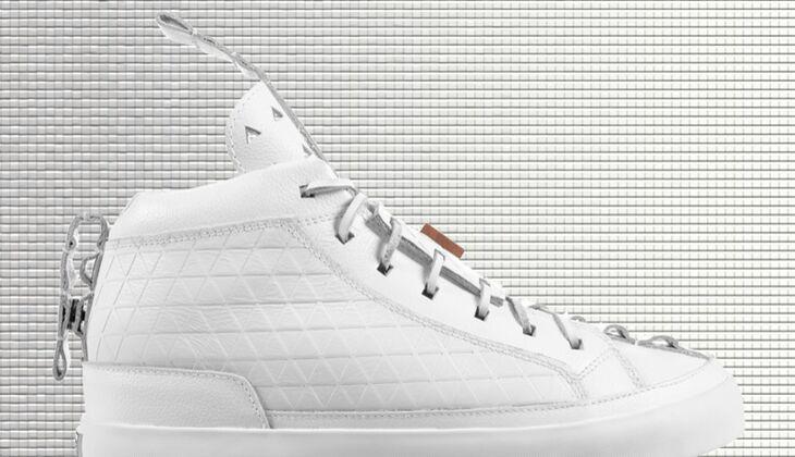 Weiße Sneaker von Patrick Mohr