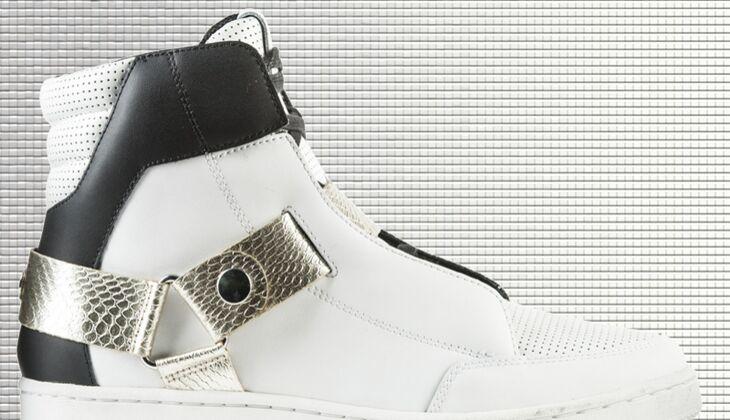 Weiße Sneaker von Roberto Cavalli