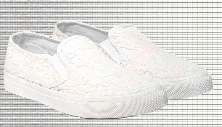 Weiße Sneaker von United Colors of Benetton